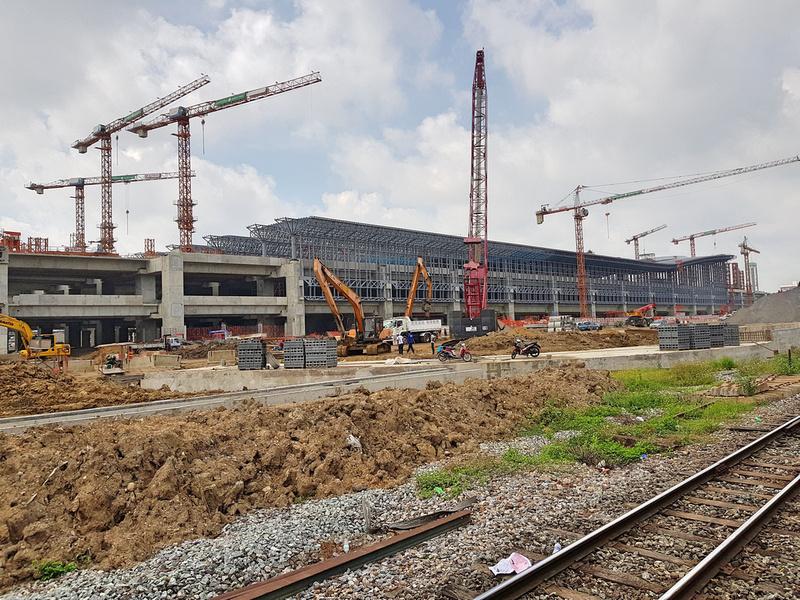Bang Sue construction - May 2018