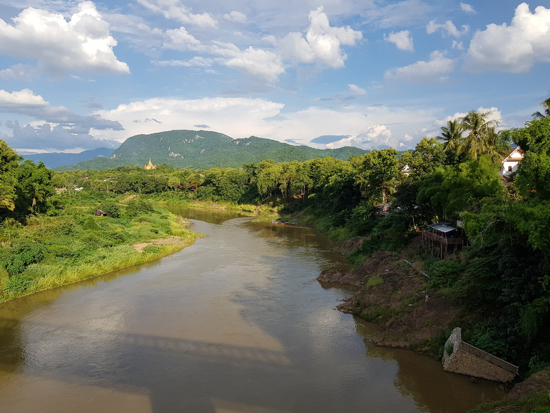 Nam Khan river view