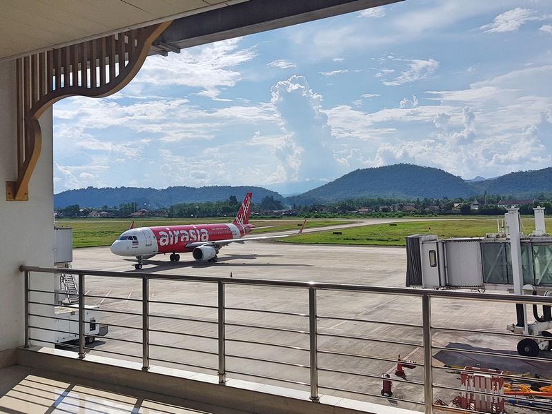 AirAsia at Luang Prabang