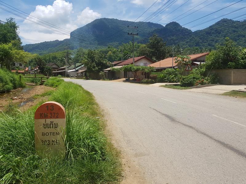 Walking in Laos