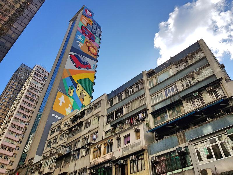 Travelodge Graffiti Wall