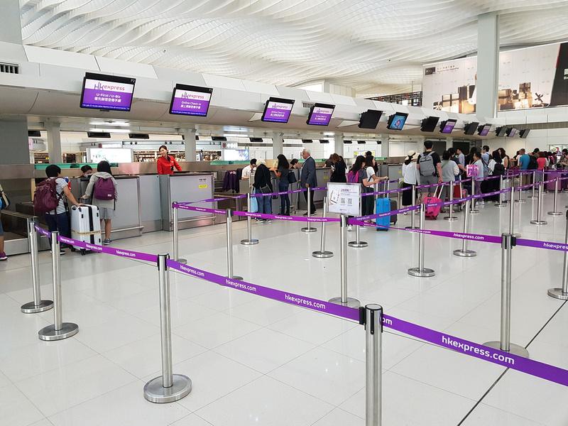 HK Express check in
