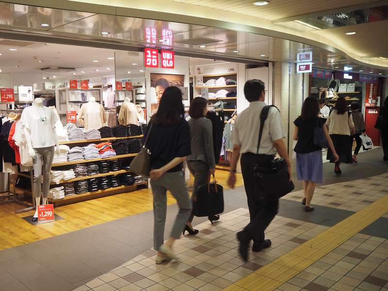 UNIQLO and Muji