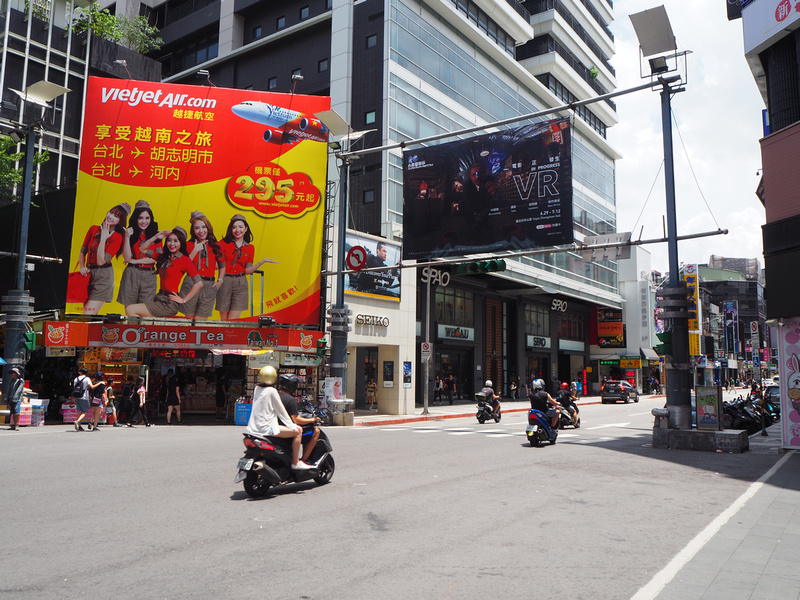 VietJet advertising in Taipei