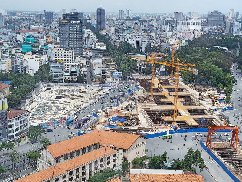Saigon construction update - what to expect in 2019