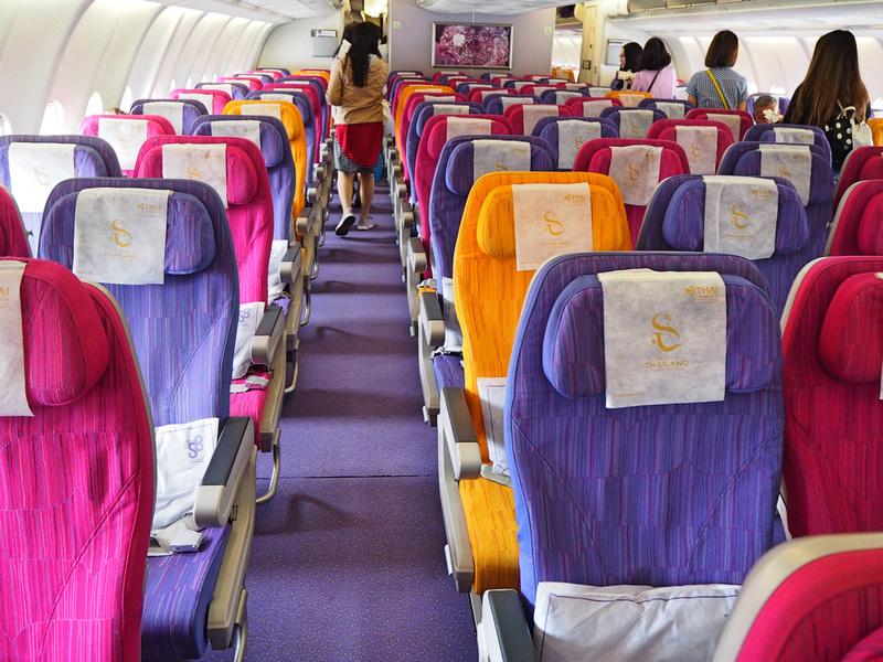 A330-300 cabin