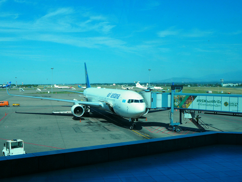 Air Astana from BKK