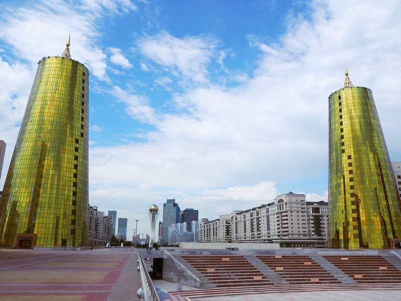 Astana golden gate towers