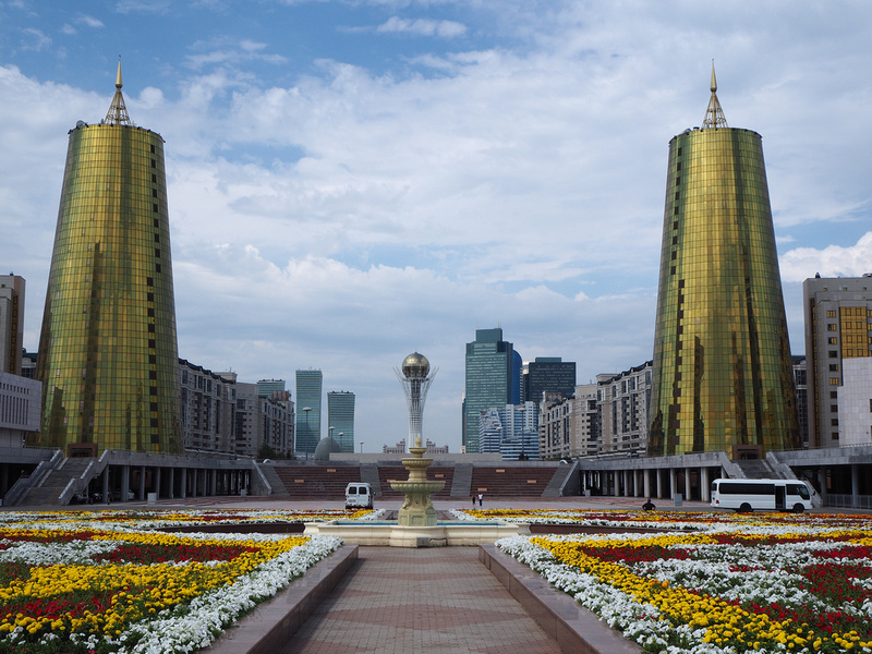 Notes on Astana - the futuristic capital of Kazakhstan