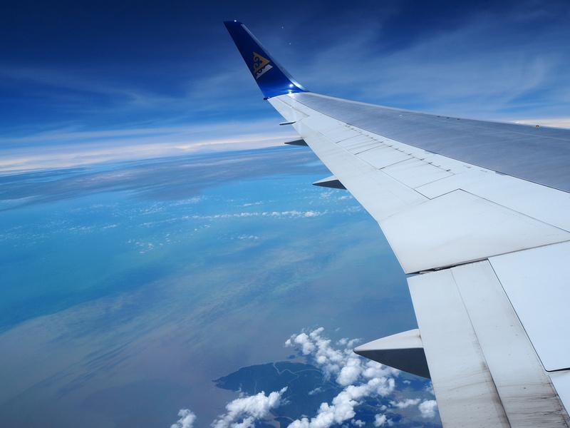 Over Bangladesh