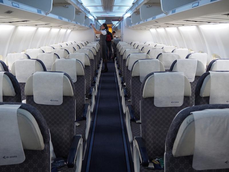 757 cabin