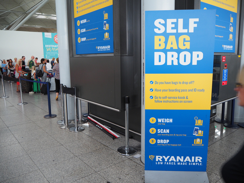 Ryanair Self Bag Drop