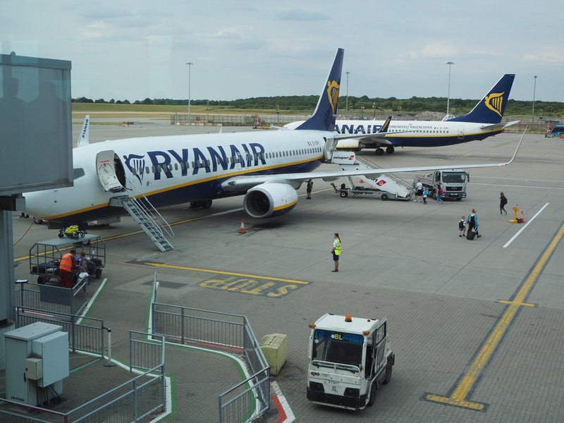 Ryanair at STN