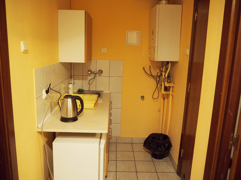 Entrance kitchenette
