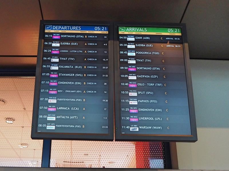 Departures-Arrivals