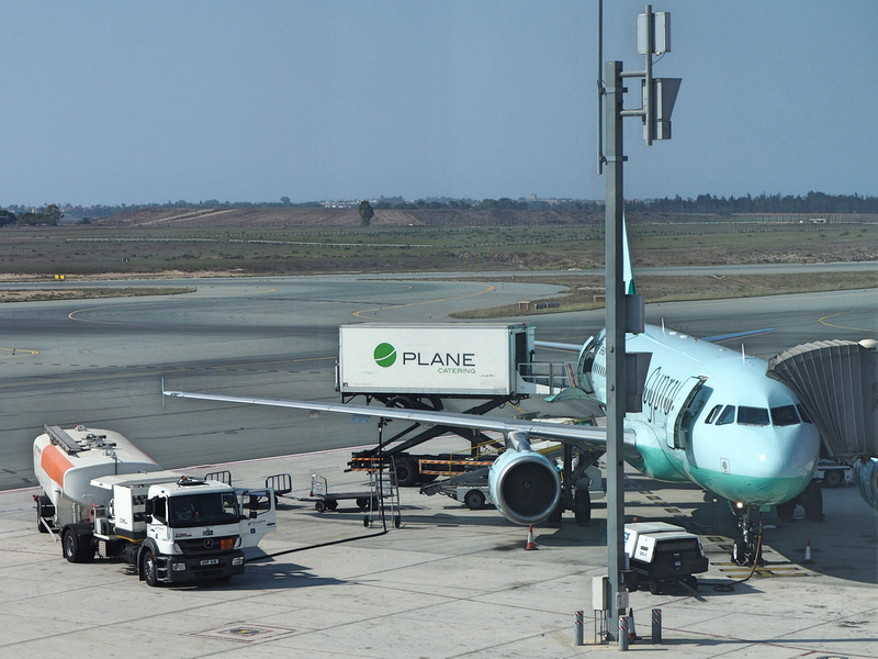 Cyprus Airways at Larnaca