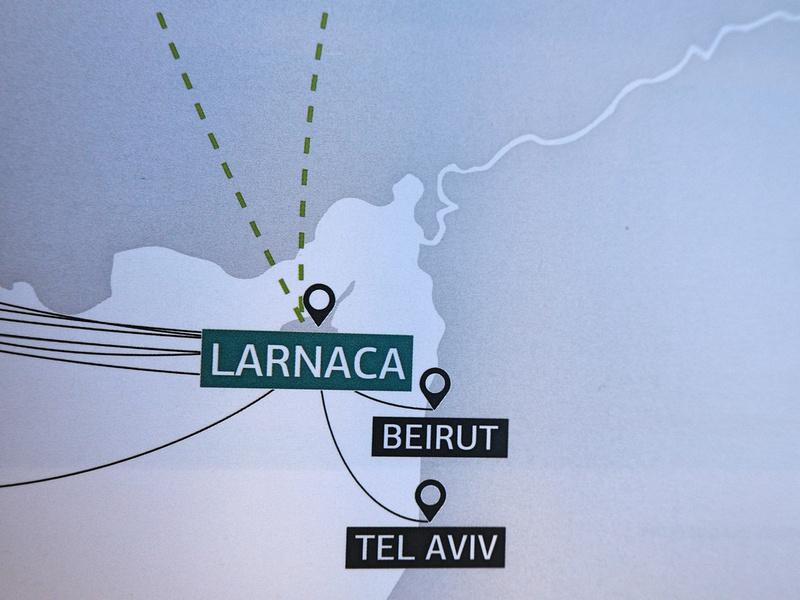 Larnaca-Beirut