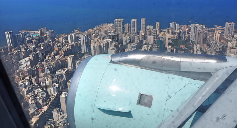 Arriving in Beirut