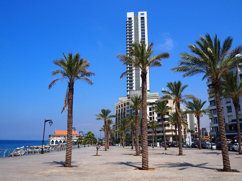 Sea promenade