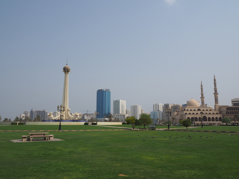 A sweaty summer stopover in Sharjah