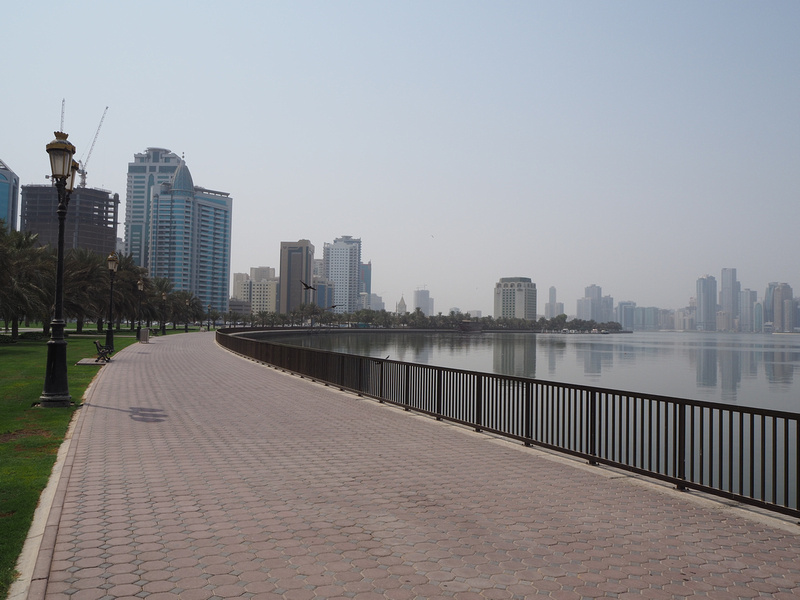 Khalid Lake walk