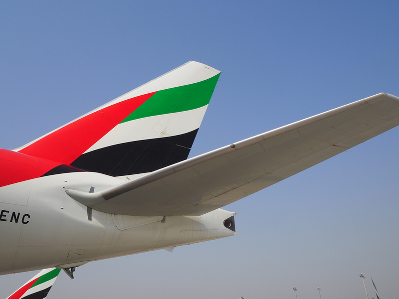 Emirates tail