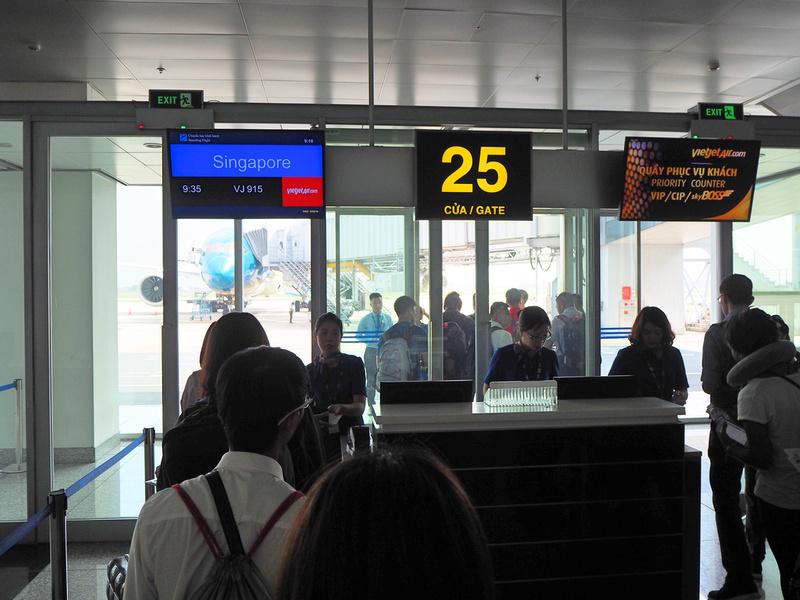 Boarding Gate 25
