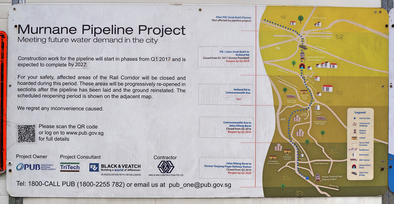 Murnane pipeline project