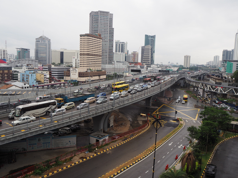 Causeway traffic