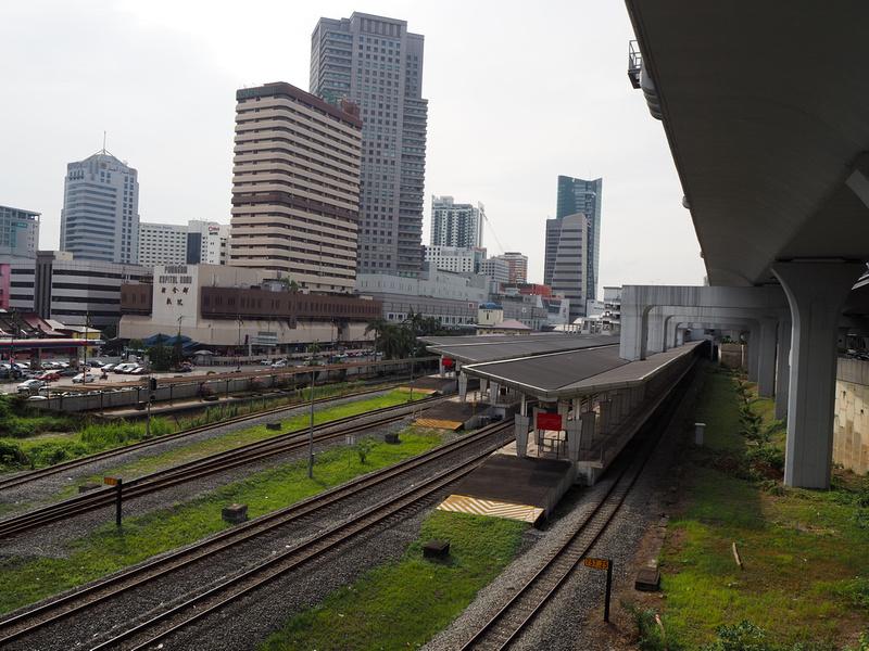 JB Sentral rail lines
