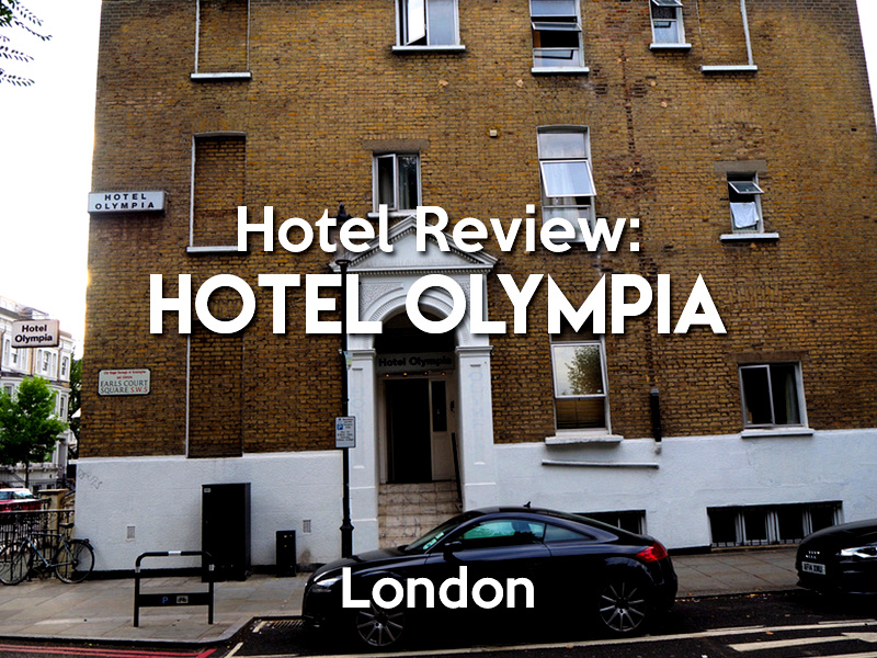 Hotel Review -  Hotel Olympia, London