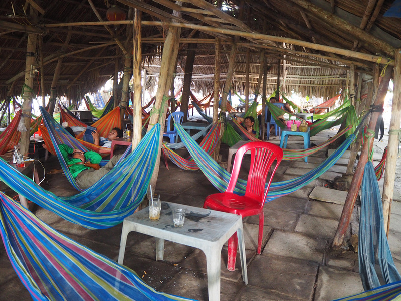 Cafe San Vuon hammocks