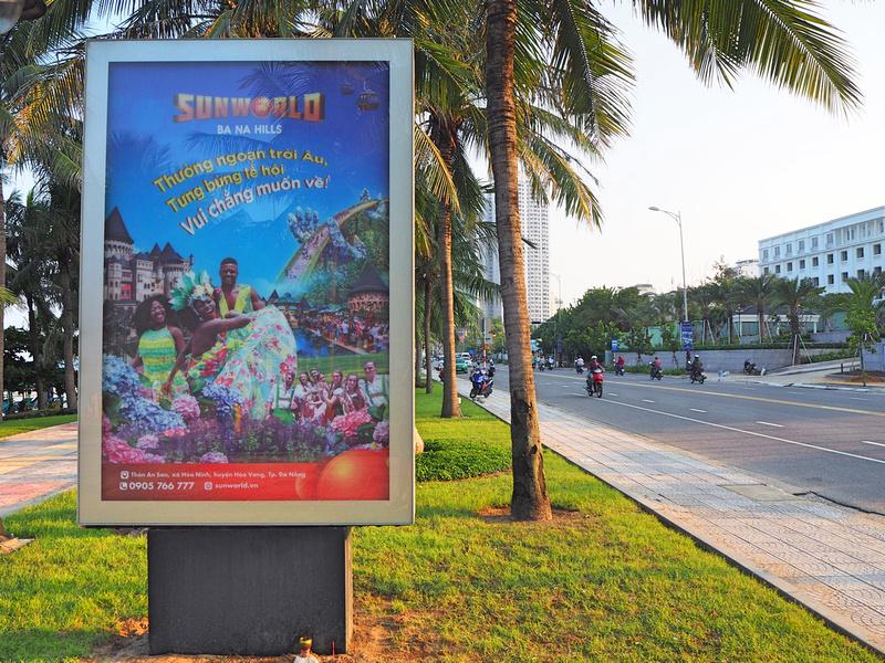 Ba Na Hills advertising