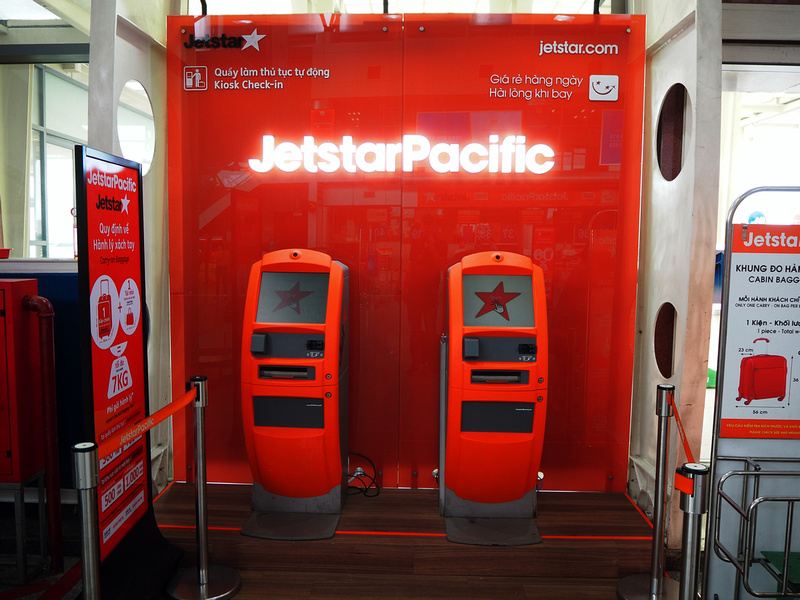 Jetstar Pacific kiosk