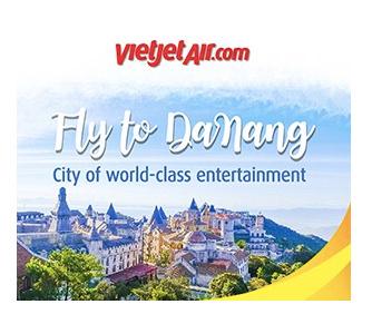 VietJet ad for Ba Na Hills