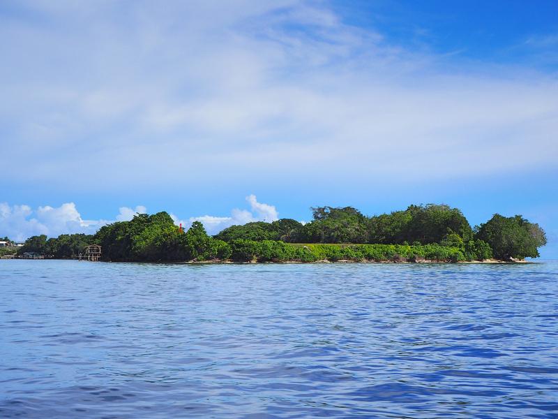 Nusatupe Airport island