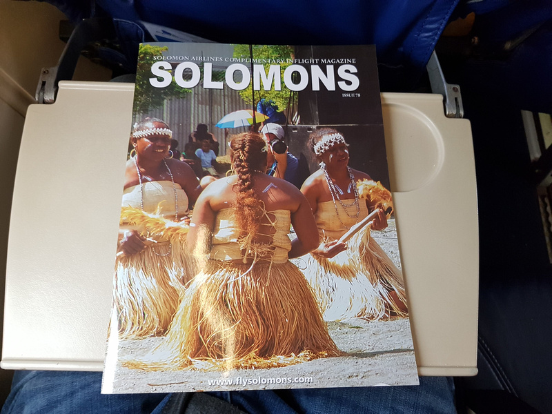 Solomon Airlines inflight magazine