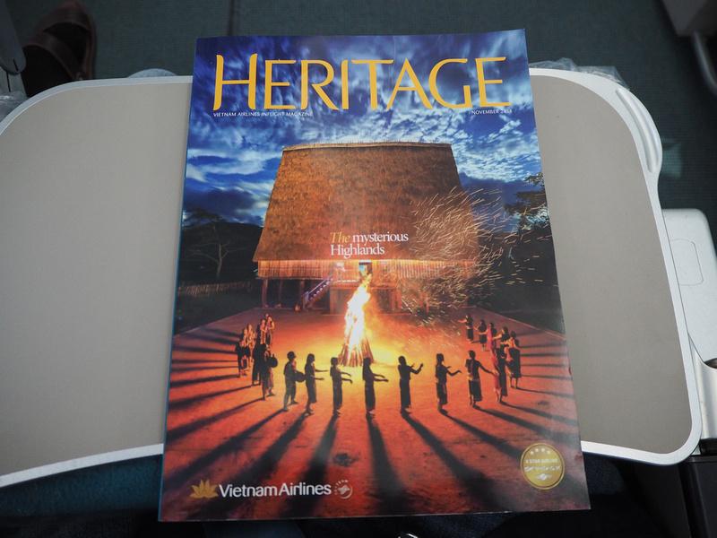 Heritage inflight mag