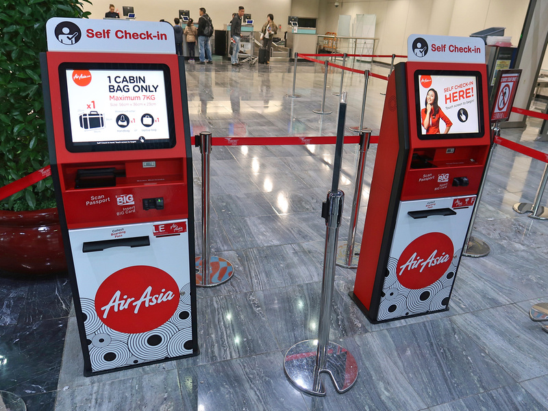 AirAsia self check-in