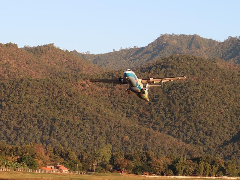 Bangkok Airways takeoff