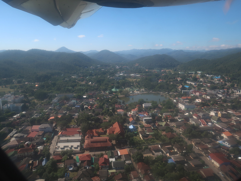 View of Mae Hong Son