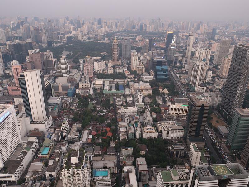 Bangkok from Mahanakhon