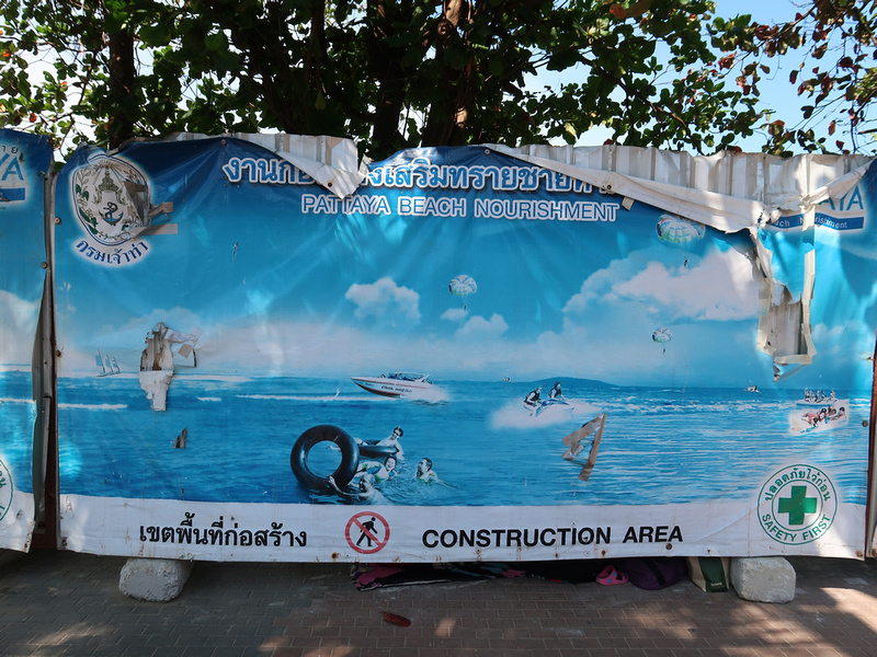 Pattaya beach nourishment