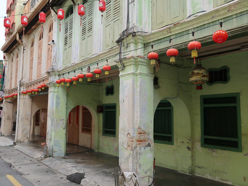 Old shophouses of Ipoh