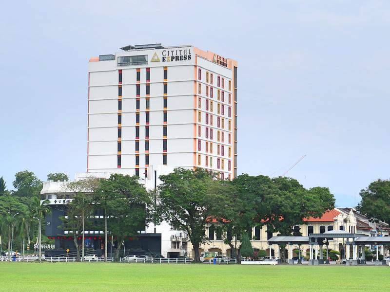 Padang view of Cititel Express