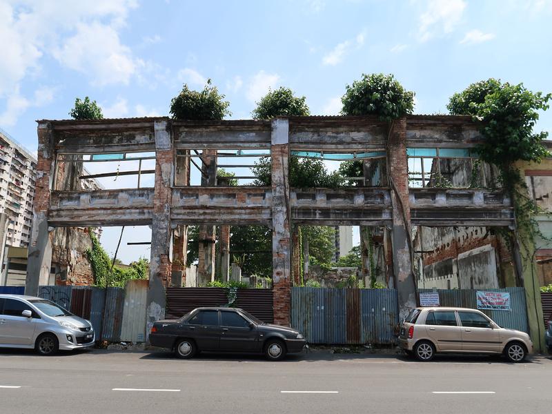 Ruined shophouses 75 Jalan CY Choy