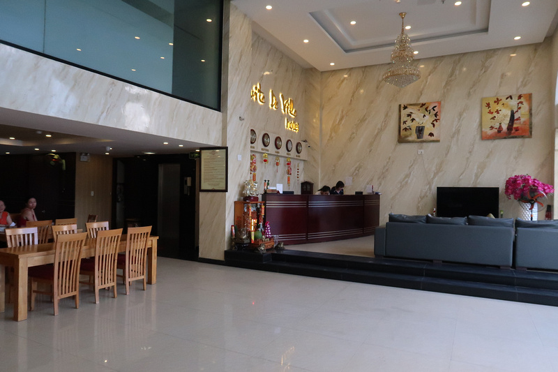 Suite De Ville Hotel Reception
