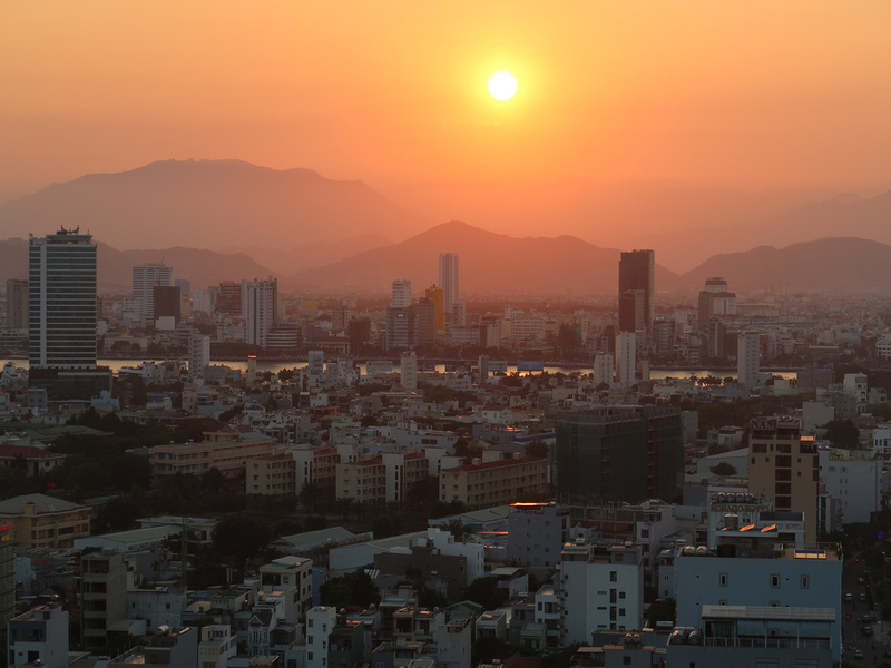 Da Nang sunset