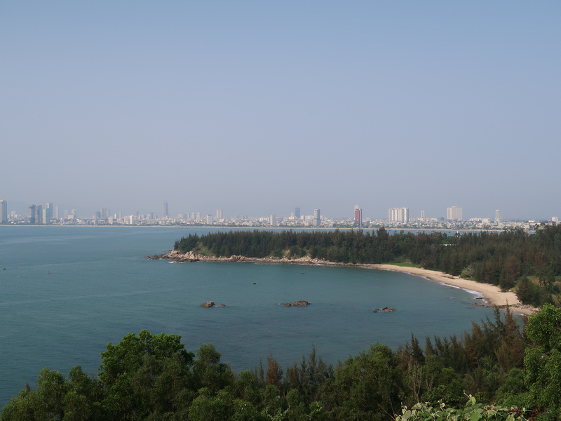 Da Nang view from Son Tra Peninsula