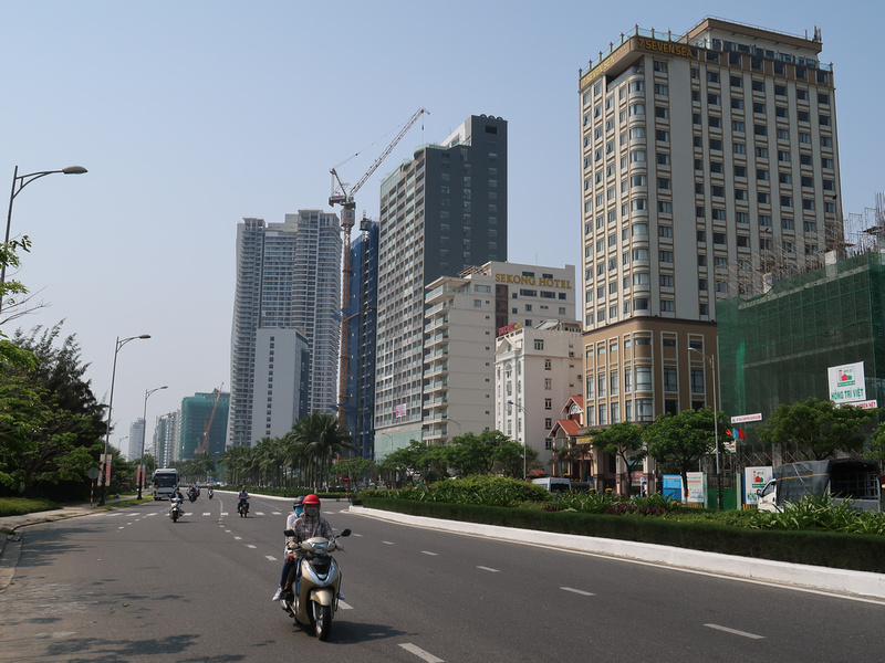 Growing skyline of Da Nang
